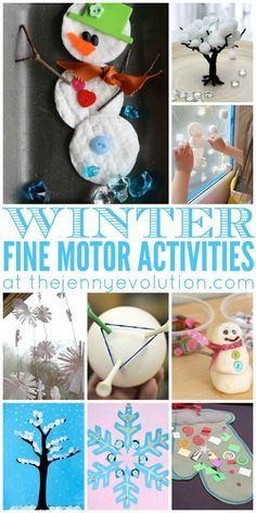 1ee206db1 Fine Motor Winter Activities for Preschoolers