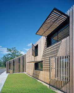 Centre départemental de loisirs | Marjan Hessamfar & Joe Vérons architectes…