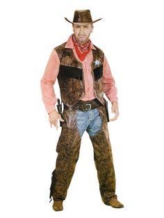 Wild West Herrenkostüm Cowboy braun-rot-weiss, aus unserer Kategorie Cowboy & Indianer Kostüme. Dieser raue Cowboy ist ein absoluter Meisterschütze, der noch nie ein Duell verloren hat. Im Wilden Westen ist er der unangefochtene König der Prärie! Ein fantastisches Kostüm für Karneval und Wild West Mottopartys. #Fasching