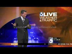 Pranksters Get Weatherman With Hugh Janus Birthday - YouTube