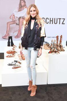 Olivia Palermo - Schutz Beverly Hills Opening, Schutz Beverly Hills, Los Angeles, America – 21 Apr 2016