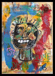 Art Room Britt: Basquiat Self Portraits with Free Association Elements Portraits For Kids, Self Portrait Kids, Portrait Art, Art Lessons For Kids, Art Lessons Elementary, Basquiat Paintings, Banksy Art, Graffiti, 2nd Grade Art