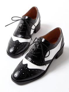 Rouge vif ルージュ・ヴィフ ラクレ ウィングチップシューズ / Wing-tip Shoes on ShopStyle