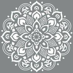 mandala stencils for furniture - Google Search