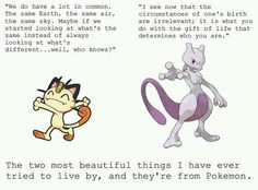Pokemon can teach us something, if we just look for it