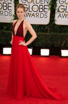 Amy Adams in Maison Valentino | Golden Globes 2014