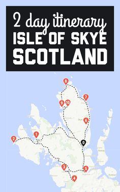 perfect itinerary for 2 days on Isle of Skye Skye is a large island, and there is loads to see. I think you need 2 days minimum to see the major sights. Here's my perfect Isle of Skye itinerary for 2 days on the island! / A Globe Well Travelled Scotland Vacation, Scotland Road Trip, Scotland Travel, Ireland Travel, Spain Travel, England Ireland, England And Scotland, Skye Scotland, Highlands Scotland
