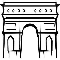 Triumphbogen Arc de Triomphe - Der Arc de Triomphe ist eines der Wahrzeichen in Paris. Hier endet auch jedes Jahr die Tour de France, das gr��te Redrennen der Welt in Frankreich.