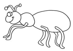 Ant coloring page   Download Free Ant coloring page for kids   Best ...