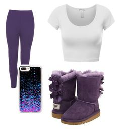 """""""Untitled #37"""" by daylajd on Polyvore featuring UGG Australia, WearAll and Casetify"""