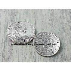 Entrepieza moneda romana de 30mm. en zamak