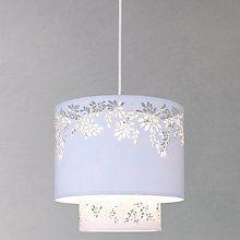 Buy John Lewis Summer Filigree Easy-to-fit Ceiling Light, Ivory Online at johnlewis.com