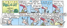 Fábulas de Polícías y Ladrones. 02/06/2015