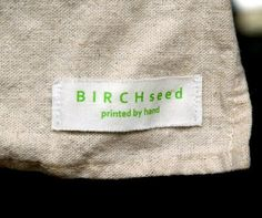 tutorial - how to make home made cloth labels