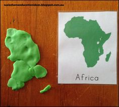 Suzie's Home Education Ideas: 8+ hands-on ideas for learning about World Continents                                                                                                                                                                                 More