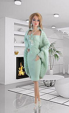 Watch This Video Incredible Crochet a Bear Ideas. Cutest Crochet a Bear Ideas. Crochet Barbie Patterns, Crochet Doll Dress, Barbie Clothes Patterns, Crochet Barbie Clothes, Crochet Toys, Barbie Mode, Barbie Wardrobe, Barbie Dress, Vintage Barbie