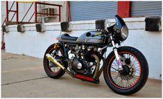 1975 Honda CB500 CaféRacer - Pipeburn - Purveyors of Classic Motorcycles, Cafe Racers & Custom motorbikes