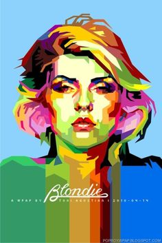 Cool Blondie poster ~ CtrlClick #poster #design #blondie