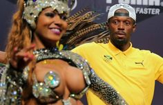 Usain Bolt puts on a show at Olympic press conference (VIDEO ...