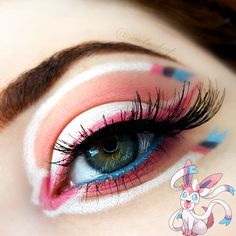 Ariel Make Up ~ Make Up & Beauty with a Princess Touch: ♕ The Pokémon Series ~ Sylveon ♕{Eeveelutions Mini Series}