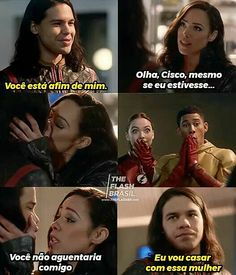 A cara do Wally e da Jessy! Vampire Diaries, Flash Barry Allen, The Flash Grant Gustin, Supergirl And Flash, Dc Memes, Soap Bubbles, Icarly, Flash Arrow, Film Serie