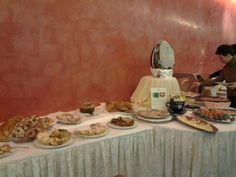 Buffet della colazione di Pasqua