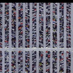 Busiest Airport in the world - Atlanta parking lot