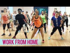Fifth Harmony - Work From Home (Dance Fitness with Jessica) - YouTube