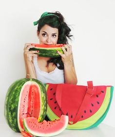 Watermelon Purse  - MASK Design