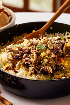 Colin McGurran serves up a stunning lamb biryani recipe – a real celebratory dish that makes the most of an aromatic host of spices. Lamb Biryani Recipes, Curry Recipes, Rice Recipes, Indian Food Recipes, Asian Recipes, Dinner Recipes, Healthy Recipes, Lamb Dishes, Curry Dishes