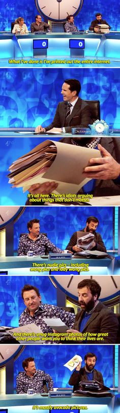 """When David O'Doherty summed up the entirety of the internet.   34 Times """"8 Out Of 10 Cats Does Countdown"""" Was Almost Too Funny"""