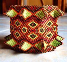 Nancy Jenner - inspired by Kate McKinnon's book Contemporary Geometric Beadwork