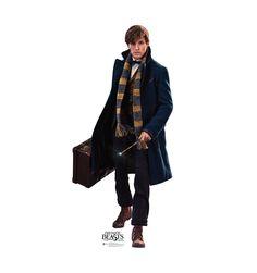 Fantastic Beasts Harry Potter Life-Size Cardboard Standee Of Newt Scamander