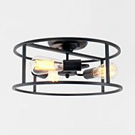 Pendant+Light+,++Modern/Contemporary+Traditional/Classic+Rustic/Lodge+Vintage+Country+Painting+Feature+for+Mini+Style+MetalStudy+–+NZD+$+210.23