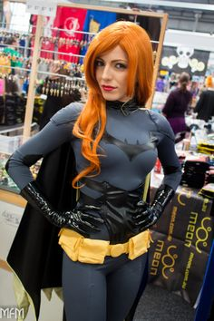 Batgirl! #cosplayer @vera_chimera looks stunning in this picture by MFM Photography. #cosplay