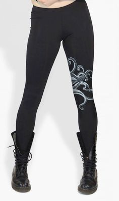 Hey, I found this really awesome Etsy listing at https://www.etsy.com/listing/193635087/octopus-leggings-tentacles-octopus-print