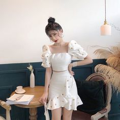 148 ideas for dress fancy short winter formal – page 1 Crazy Outfits, Teen Fashion Outfits, Chic Outfits, Dress Outfits, Girl Fashion, Fashion Dresses, 2000s Fashion, Classy Fashion, Korean Dress