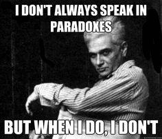 Ughh...Derrida...
