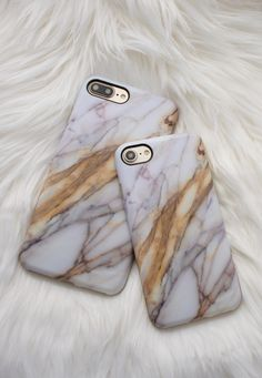 Marble + Copper Case for iPhone 7 and iPhone 7 Plus from Elemental Cases = Simple & Elegant