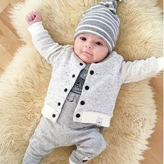 b96812147ab Loving this super comfy, super cute look! Makes us look forward to cooler  days · Boys Dress ClothesTrendy Baby ...