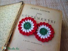 Crochet Earrings, Crochet Jewellery, Crochet Patterns, Crochet Ideas, Activities, Activity Ideas, Diy Ideas, Charms, Jewelry