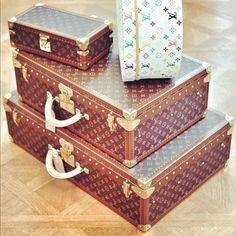 Louis Vuitton Luggage / Trunks | tumblr