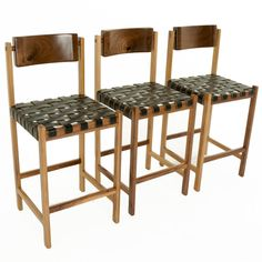 Mills Stool by Thomas Hayes Studio | See more antique and modern Stools at https://www.1stdibs.com/furniture/seating/stools