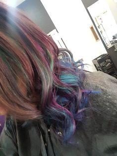 Mermaid hair 😍😍😍