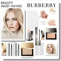 Beauty Must Haves by efashiondiva7 on Polyvore featuring polyvore, beauty, Burberry, Bobbi Brown Cosmetics and ASOS