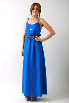 Rieley, Blue maxi dress, vivadivaboutique.com
