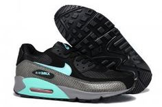 Nike Air Max 90 Running Shoe Essential Black/Blue/Snakeskin