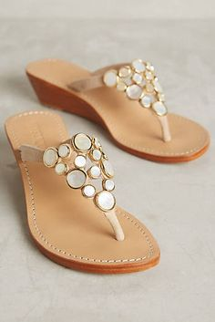 Mystique Mother-of-Pearl Wedges