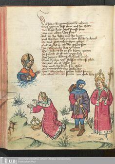236 [116v] - Ms. germ. qu. 12 - Die sieben weisen Meister - Page - Mittelalterliche Handschriften - Digitale Sammlungen Frankfurt, 1471