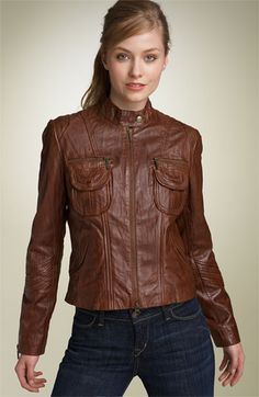 gotta cave and get a camel leather jacket for fall